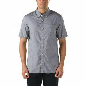 Vans Shirts - Vans Button Down Shirt Gravel Tuscon